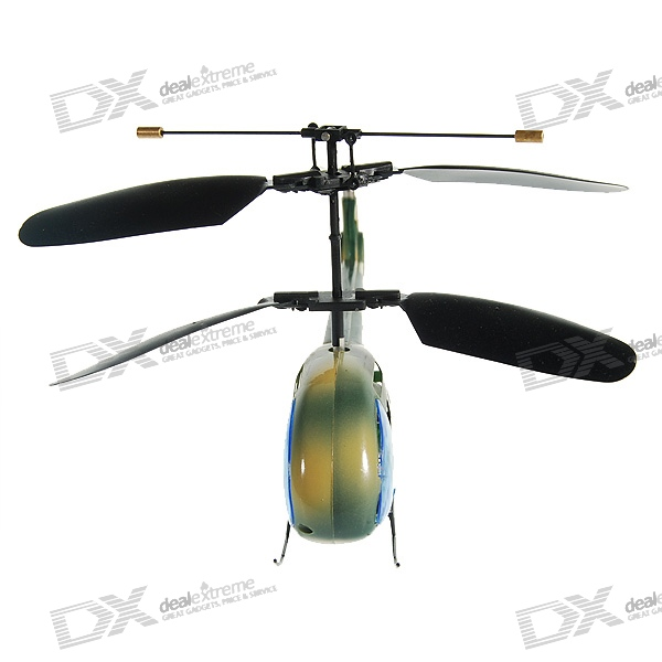 3-Channel Pocket R/C Helicopter with LED Lightshow (1822C-2)