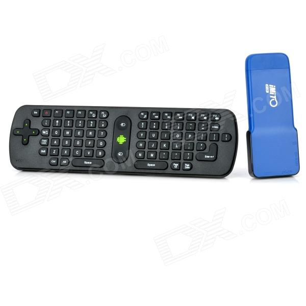 MX2 Android 4.1.1 Dual Core Google TV Player w/ Keyboard / Bluetooth / 1GB RAM / 8GB ROM – Blue - Worldwide Free Shipping - DX