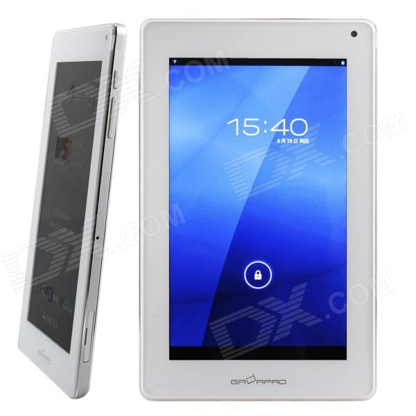 GALAPAD G1 7 Capacitive Quad Core Android 4.1 Tablet PC w/ 1GB RAM, 8GB RAM, GPS Navigation, Wi-Fi