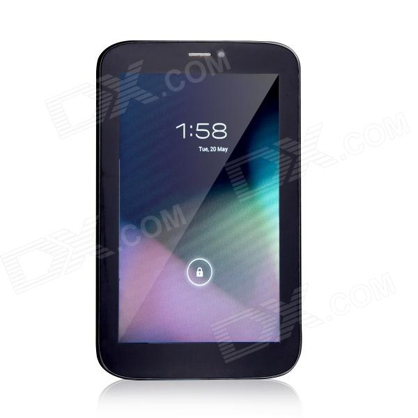 T733 7.0 Dual Core Android 4.2 GSM Phone Tablet PC w/ 512MB RAM, 4GB ROM - Black