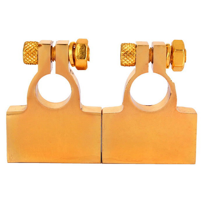 Advanced Battery Connectors for Car - Golden (Pair)