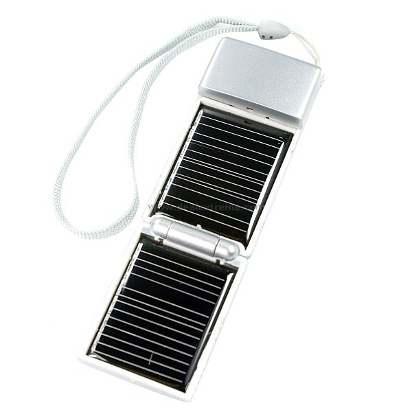Compact Solar Battery USB Power Generator (0.4W)