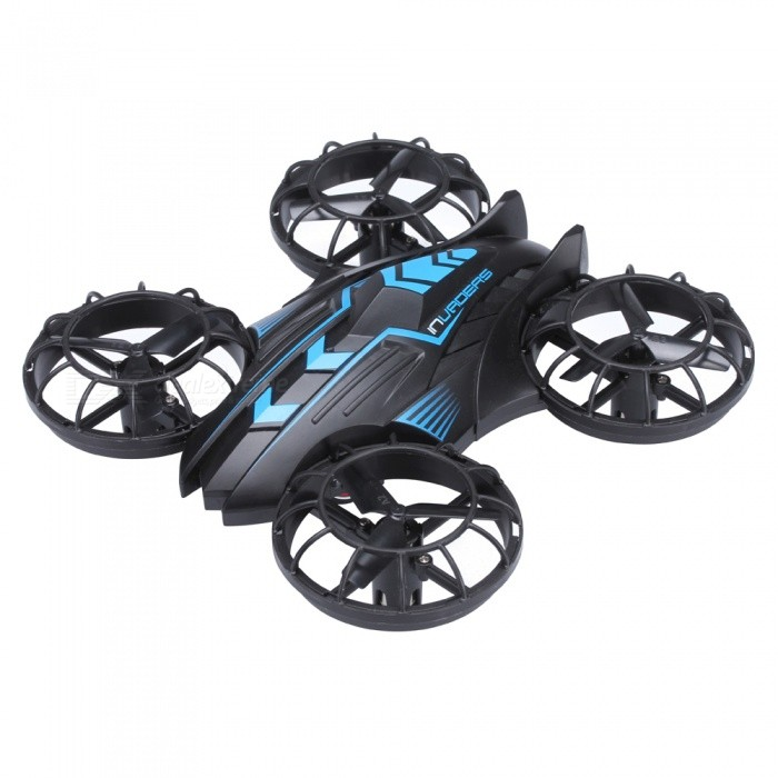 JXD 515W 2.4GHz Wi-Fi FPV 4-CH Mini RC Quadcopter - Blue + Black