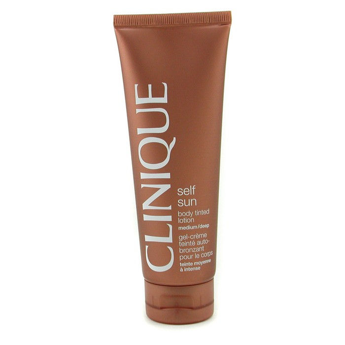 Clinique Self-Sun Body Tinted Lotion - Medium/ Deep - Worldwide Free Shipping - DX