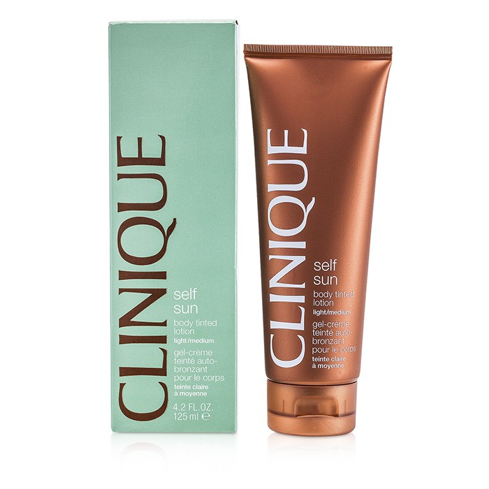 Clinique Self-Sun Body Tinted Lotion - Light/ Medium - Worldwide Free Shipping - DX
